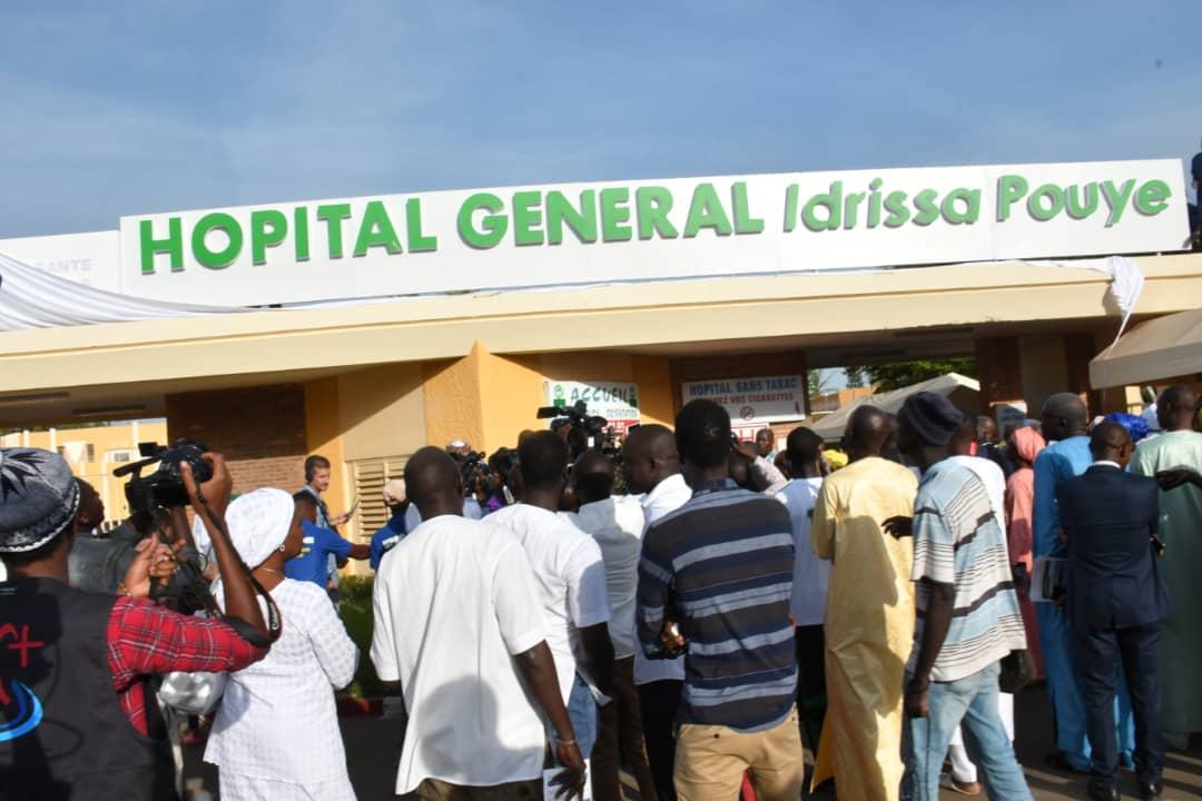 L'hôpital Général de Grand Yoff devient l'hôpital Général IDRISSA POUYE |  MINISTÈRE DE LA SANTÉ ET DE L'ACTION SOCIALE